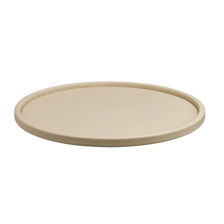 Contempo 14-inch Round Serving Tray with .5-inch Rim