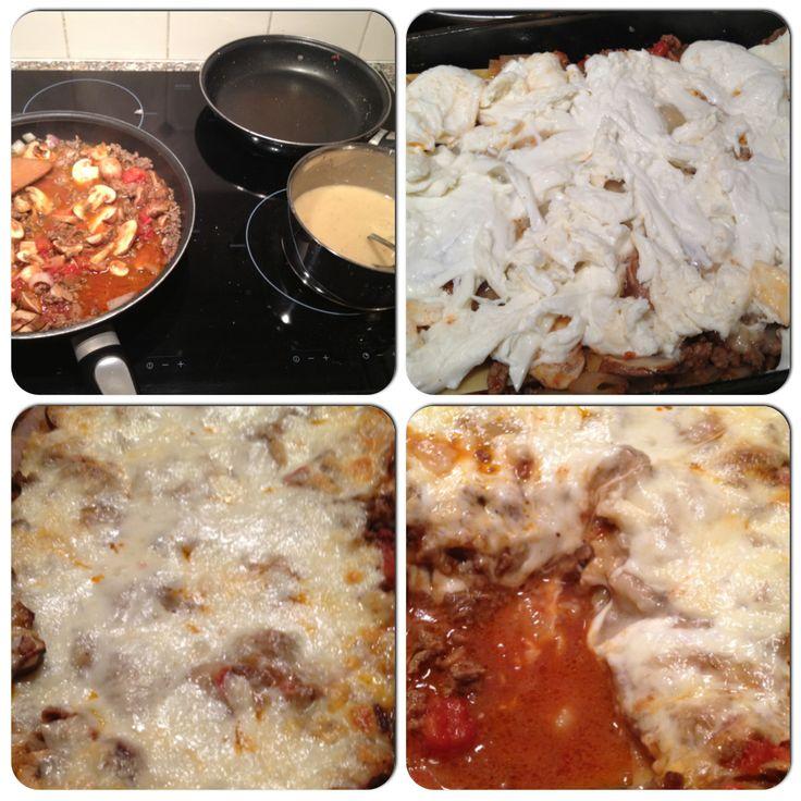 Lactose free lasagna #lactosefree