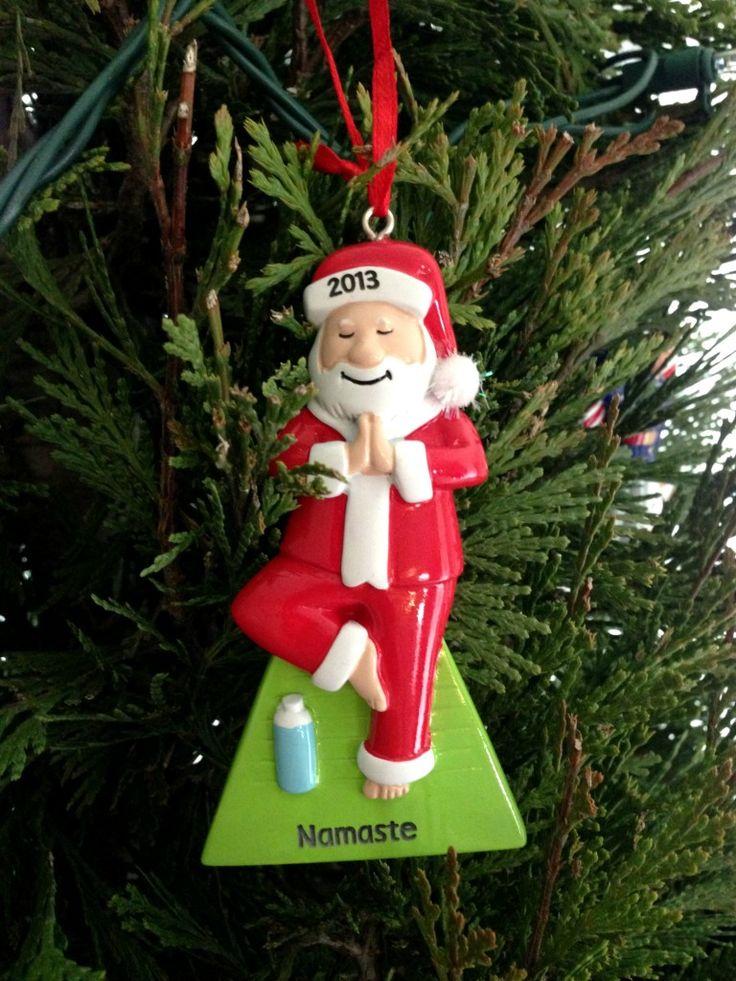 60 best Santa Yoga on Christmas images on Pinterest  Blue
