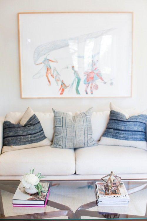 textiles + pillows