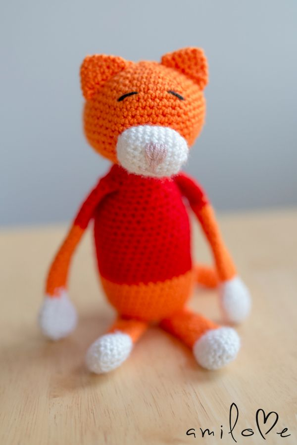 www.amilove.pl Project from: http://www.ravelry.com/patterns/library/amineko-crocheted-cat