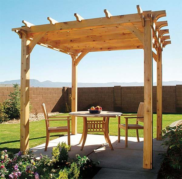 Build A Pergola In Your Backyard With One Of These 15 Free Plans Plan From Popular Mechanics