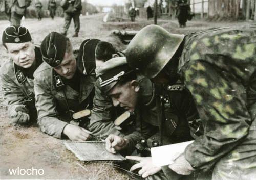 "1. SS-Panzer-Division ""LSSAH"", in Hungary, 1945. Operation Südwind or Frühlingserwachen."