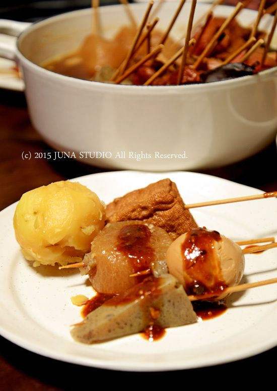 Japanese Oden Skewers 静岡おでん