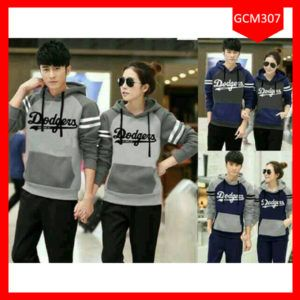 Fashion Hoodie Couple The Dodgers Terbaru