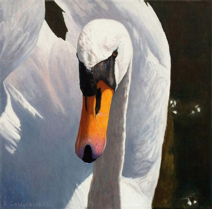 Daniel Goldenberg -   Oliemalerier - Superrealistisk figurativ kunst