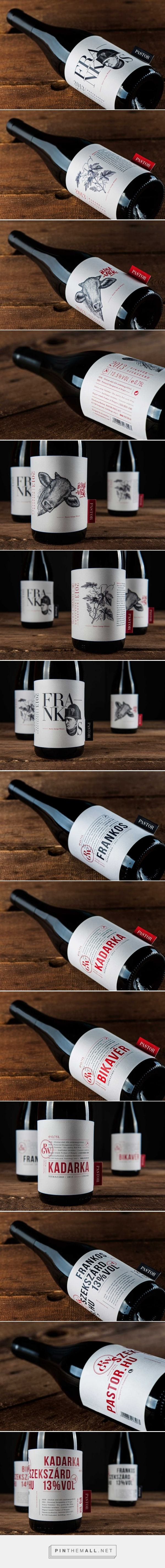 Pastor Winery's Red Wines - Packaging of the World - Creative Package Design Gallery - http://www.packagingoftheworld.com/2016/05/pastor-winerys-red-wines.html #taninotanino