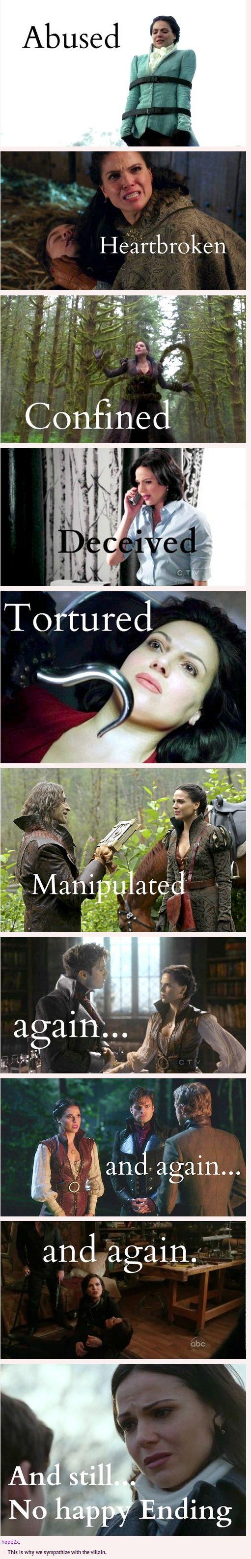 Regina Mills, our Evil Regal Queen deserves a happy ending