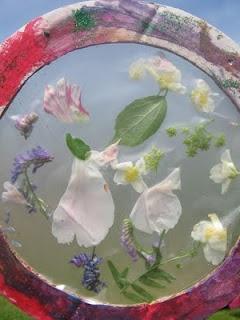 flower petal sun catchers