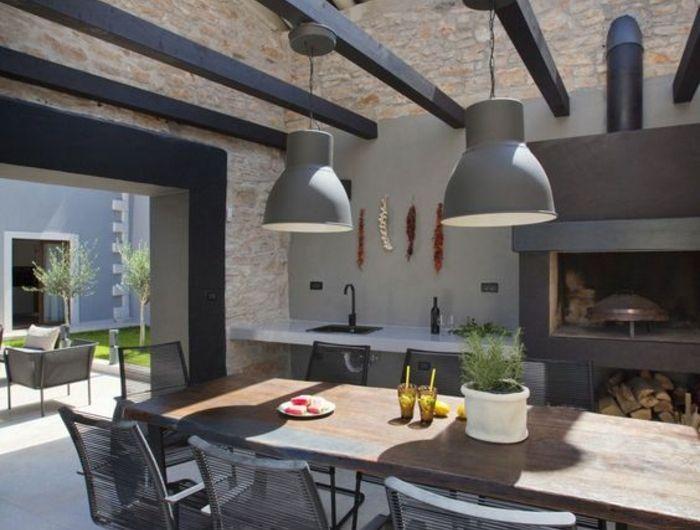 ▷ 1001+idées d\u0027aménagement d\u0027une cuisine d\u0027été extérieure outdoor - Cuisine D Ete Exterieure En Pierre