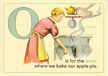 O is for Oven