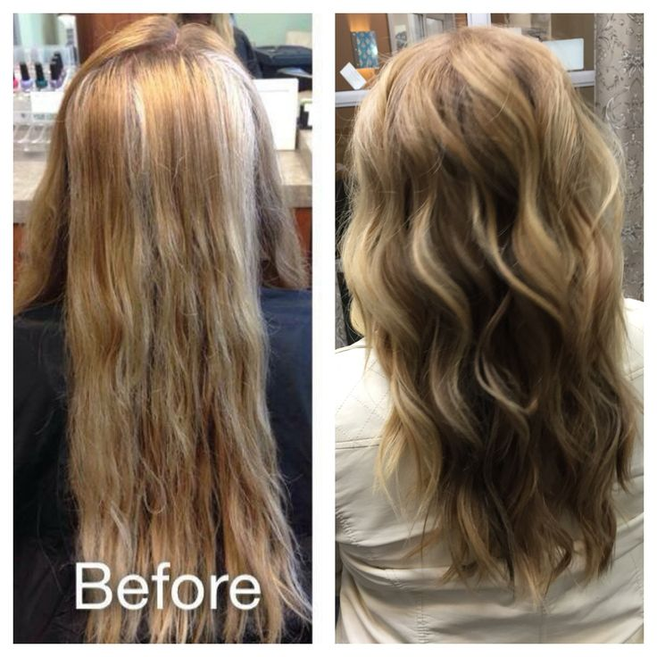 lowlights for gray hair before after lowlights before and