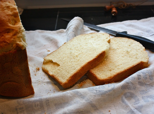 Sweet Hawaiian Bread Recipe (Cannella Vita), similar to the King's Hawaiian Sweet Bread rolls and made in a bread machine