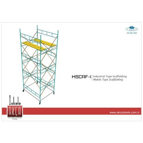 Industrial Type Mobile Scaffolding
