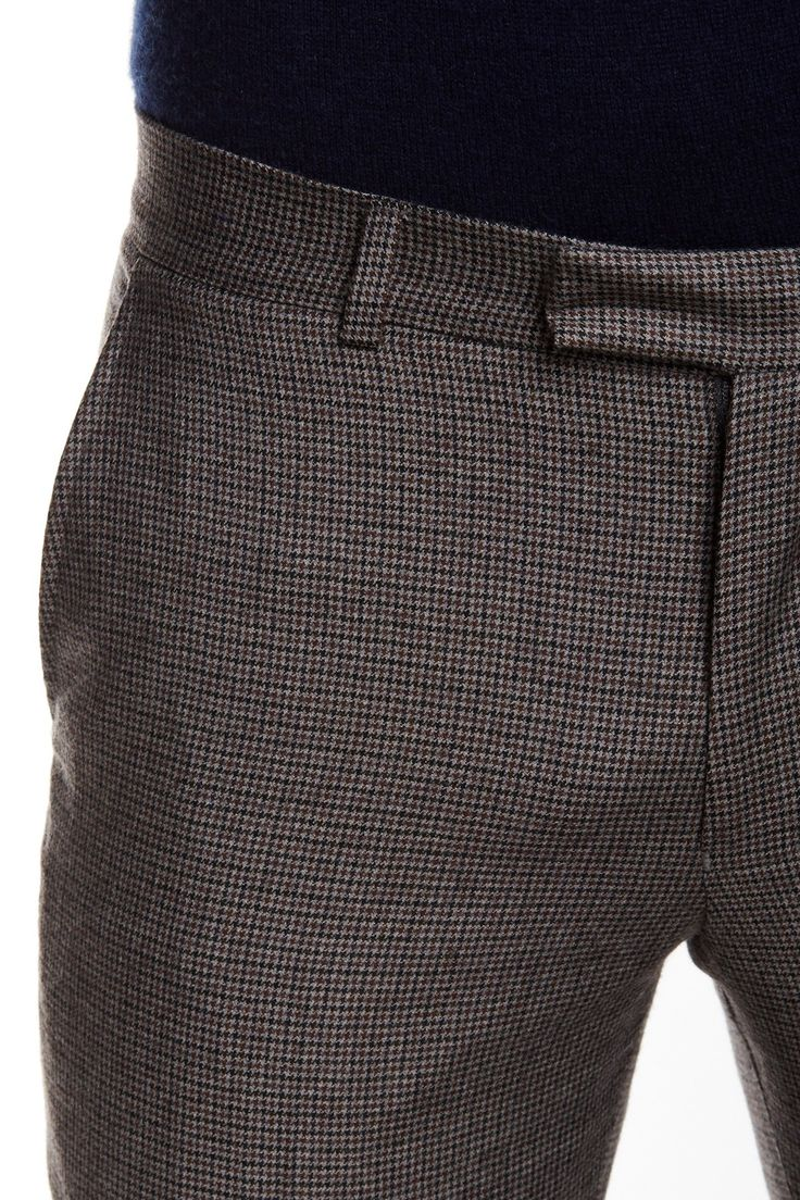 "Ben Sherman - Camden Houndstooth Wool Slim Fit Pant  - 30-34"" Inseam at Nordstrom Rack. Free Shipping on orders over $100."