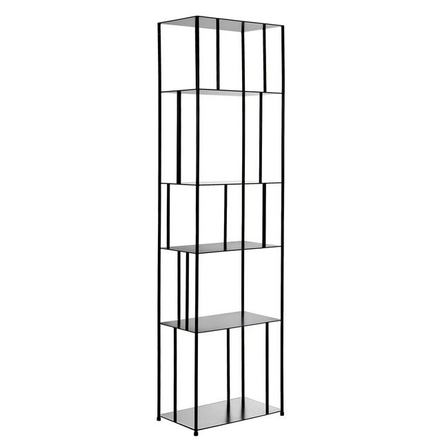 Parallel Metal Bookcase
