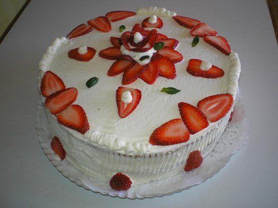Resultado de imagen para cobertura de crema de chocolate para tortas