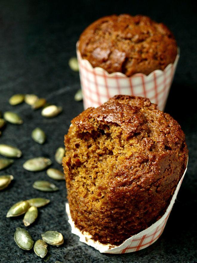 Muffins à la cannelle et à la courge (sans gluten) « Cookismo | Recettes…