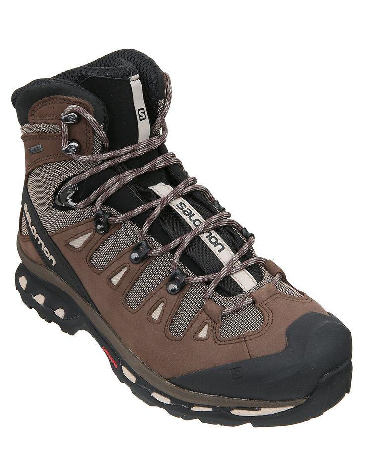 Mens Quest 4D 2 GTX Walking Boot - Rain Drum - UK Shoe Size 11.5 Brown: The Salomon Quest 4D GTX Walking Boot makes light… #OutdoorGearUK