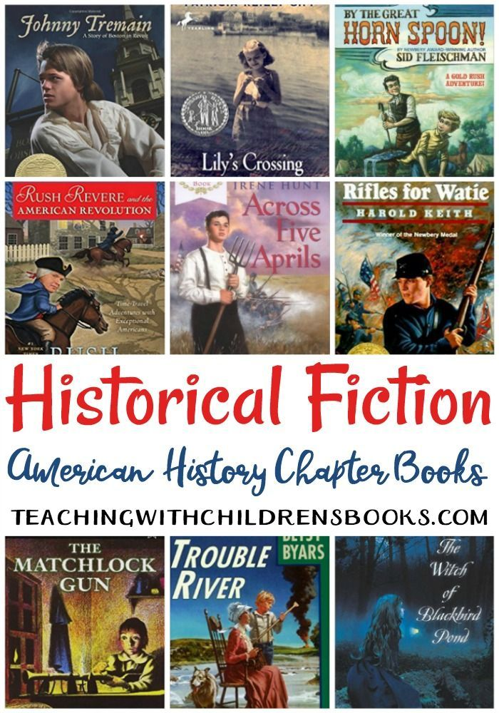 Bring history to life with this amazing collection of historical fiction books for kids. This collection features chapter books for kids of all ages.