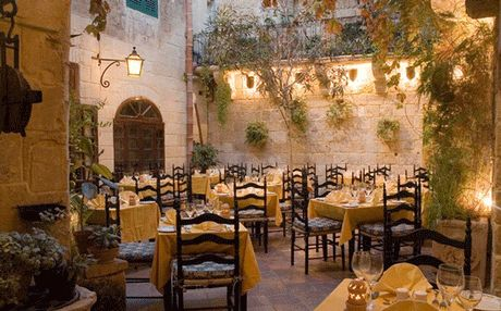 In one of the oldest properties in Mdina, this is my favourite evening restaurant in Malta's ancient capital.