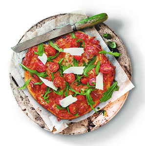 2 ingredients, no rising time = easiest pizza dough ever! Make this recipe. 30 mins, serves 10.