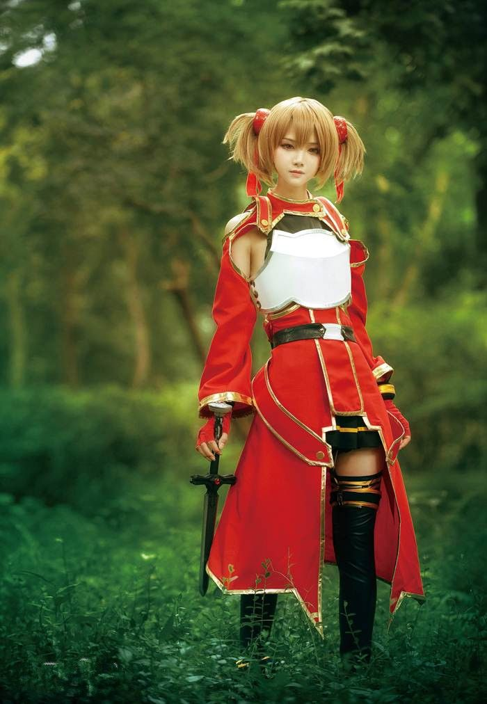 Beautiful Sword Art Online Cosplay -- Silica has always been one of my favorite character designs