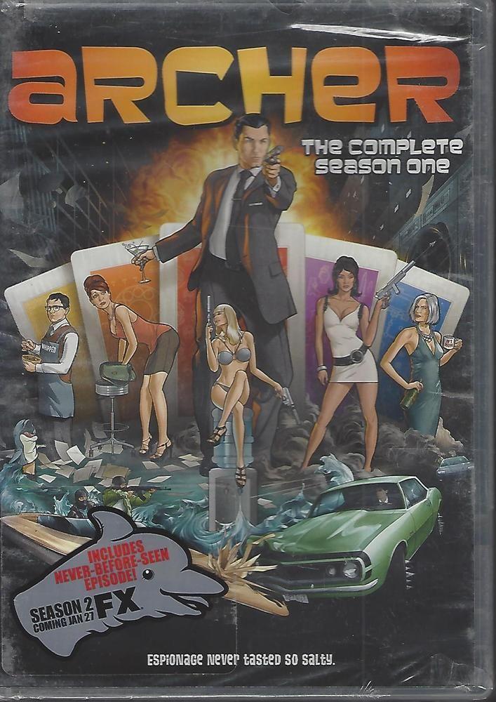Archer: Season 1 (DVD, 2010, 2-Disc Set)