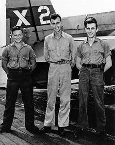 When George Bush graduated from Andover, he had already been admitted to Yale University, but the United States had entered World War II, and he enlisted in the U.S. Navy Reserve instead. At age 18, he became the youngest pilot in the Navy. During the war, he was shot down in combat over the Pacific and earned the Distinguished Flying Cross.