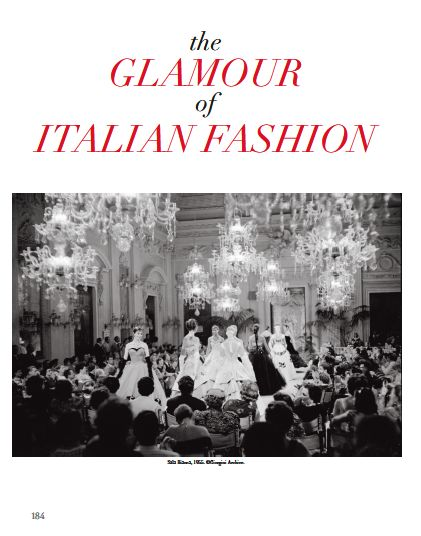 From our Focus chapter: THE GLAMOUR OF ITALIAN FASHION. #glamour #italian #fashion #exhibition #victoriaandalbertmuseum #museum #eveningdress #london #ladolcevita