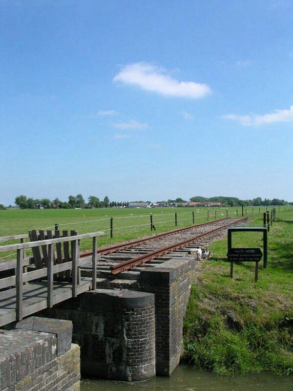 Tramlijn Schagen-Wognum, Halte De Weere, Noord-Holland.