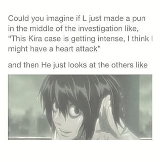 And only Matsuda and Ryuk laugh