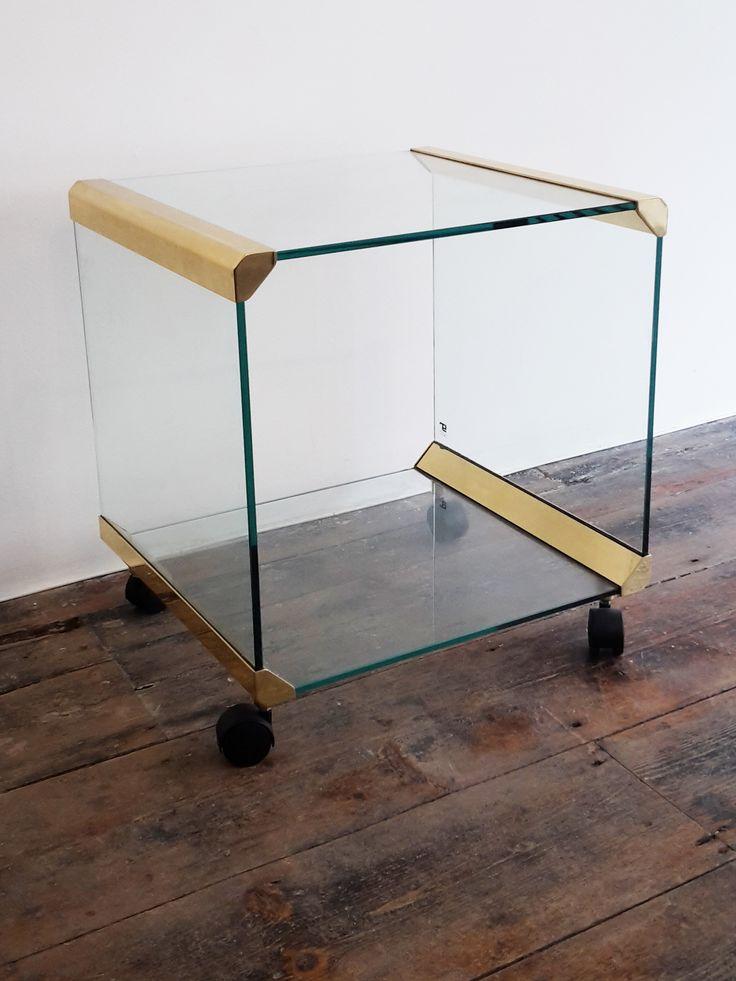 Italian Side Table by Pierangelo Gallotti 1970s