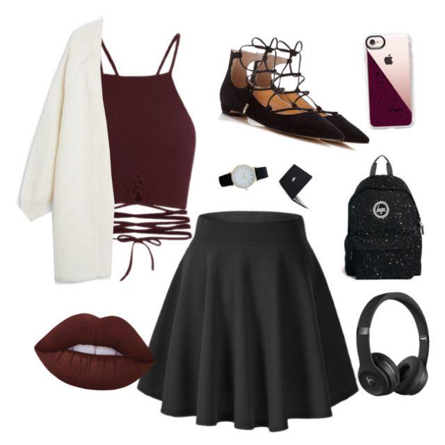 Burgundy and black 🖤💋🎧📱⌚️📕