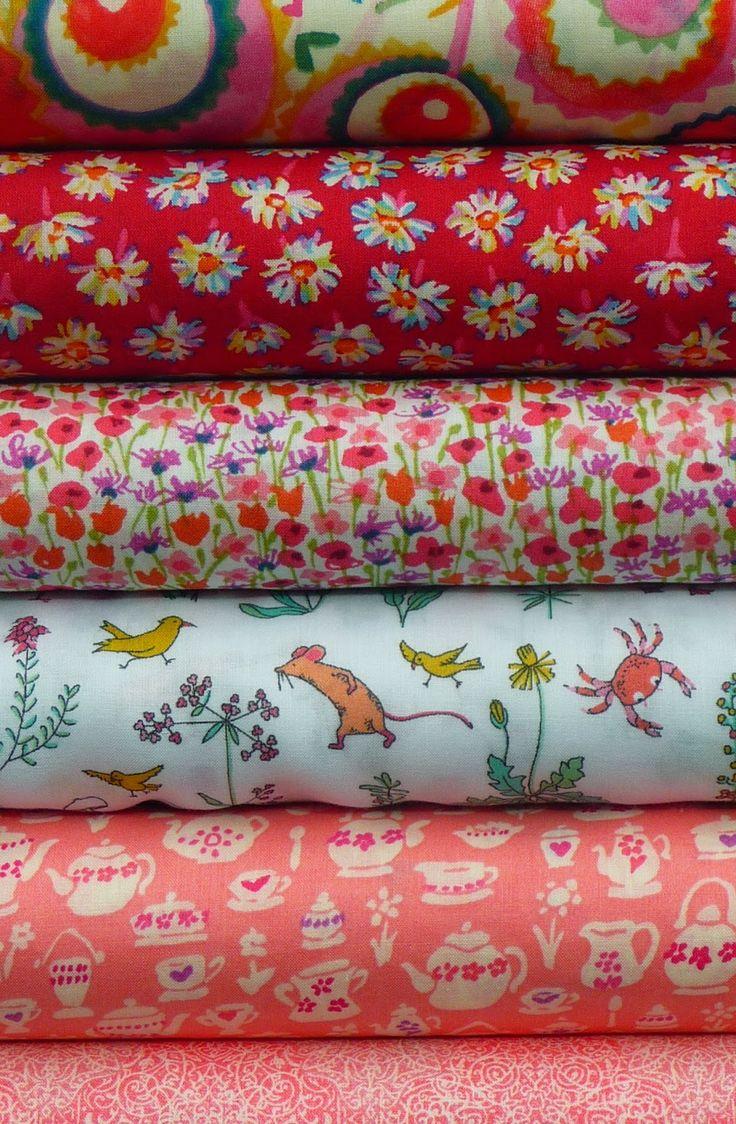 Liberty fabric at materialiseyourlife.com