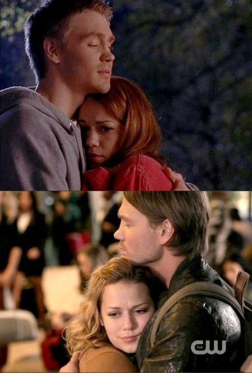 Haley e Lucas melhor amizade