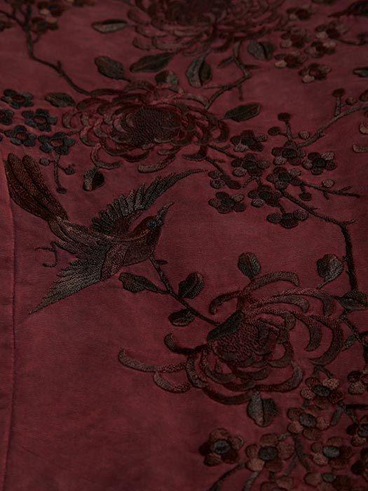 By Walid Women's Silk Kimono Jacket