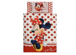 Lenjerie de pat copii disney Minnie Mouse