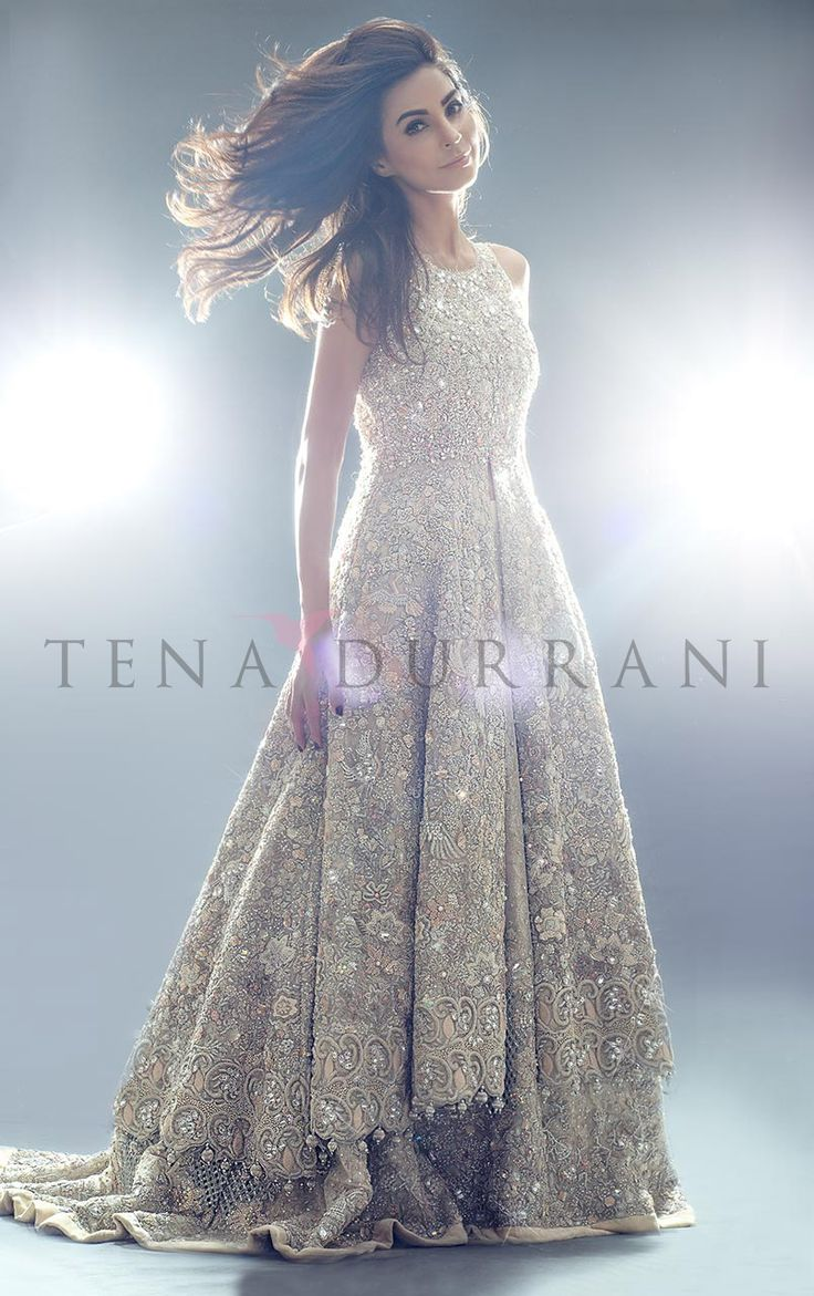 A Raised Ethereal (B48) Book an Appointment: www.tenadurrani.com/a-raised-ethereal For queries, orders and appointments inbox us, email at info@tenadurrani.com or contact +92 321 232 4600. #tenadurrani #designerwear #shopnow #Omorose #FPW15 #bridals #weddings #pakistaniweddings #brides #weddingwear #Swarovski #crystals