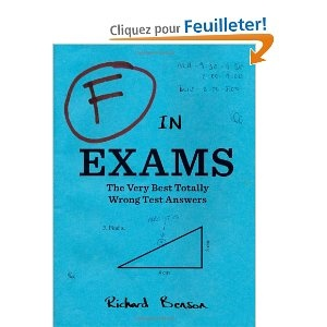 F in Exams: The Very Best Totally Wrong Test Answers 7,45€