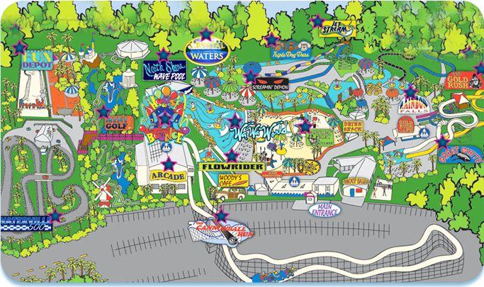 Waterpark & Amusement Park Attractions - Waterville USA, Gulf ...