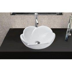 Flower Bathroom Sink