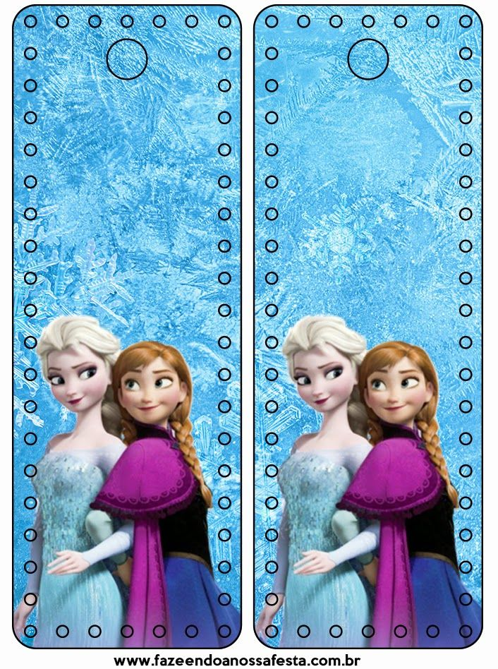Frozen: Party Free Printables. - Is it for PARTIES? Is it FREE? Is it CUTE? Has QUALITY? It´s HERE! Oh My Fiesta!