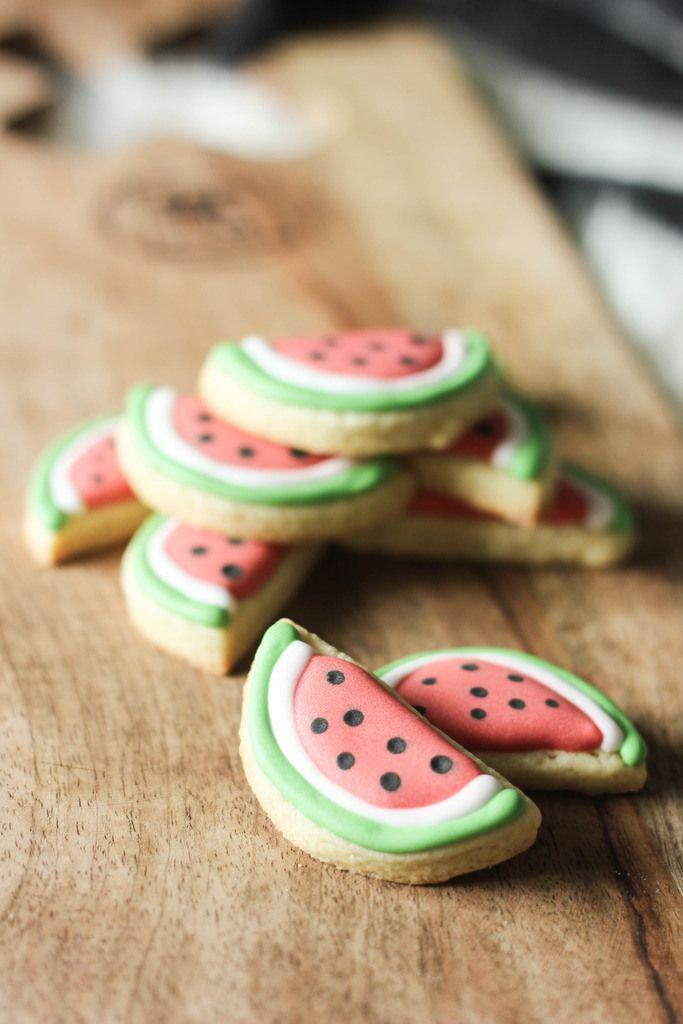 Watermeloen koekjes | Baking Lou