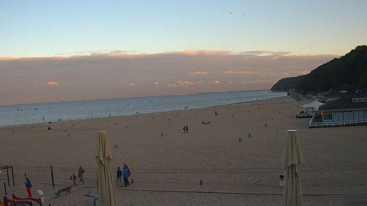 Gdynia, 18.02 http://xc.pl/gdynialive - kamera na żywo z gdyńskiej plaży