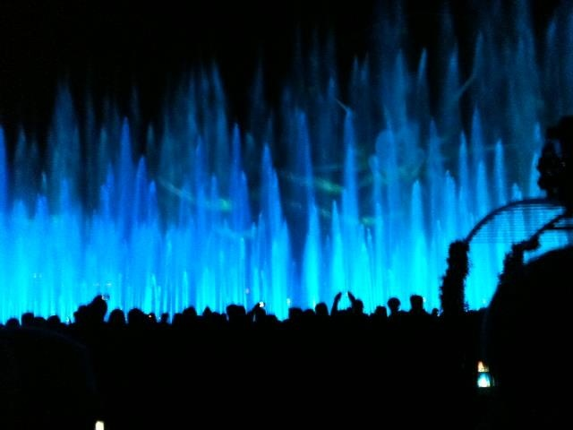 California Adventure - World of Color Water Show