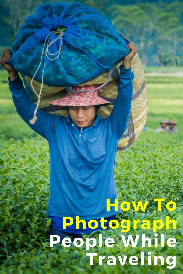 How to Photograph People While Traveling. Click here to find out more.  #travelphotography #photography