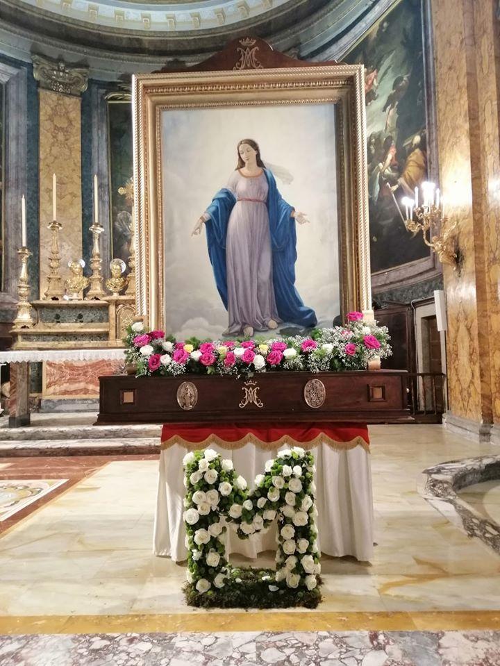 Santuario Madonna Del Miracolo Sant Andrea Delle Fratte A Roma Madonna Miracoloso