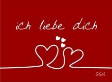 SaSchiCARD ...ich liebe dich ...