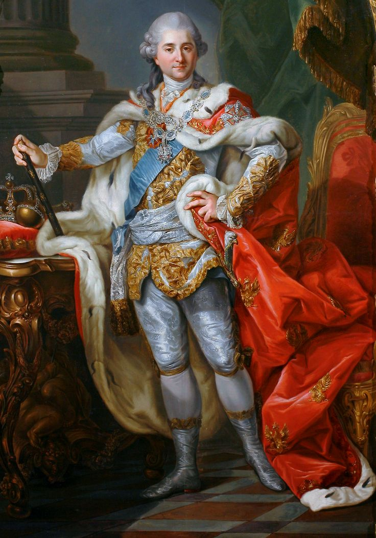 Stanislaw August Poniatowski, the last King of Poland-Lithuania; by Marcello Bacciarelli, c. 1764.